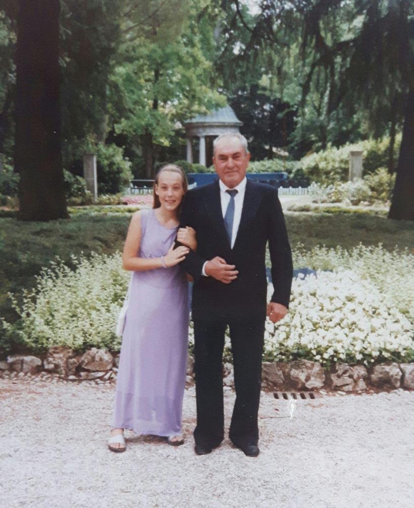 Memoria per Luciano, nonno ricco di felicità