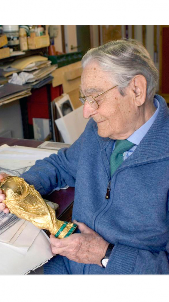 Memoria per Silvio Gazzaniga, lo scultore dei campioni