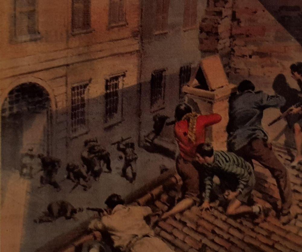 Memoria per La Firenze che accolse gli alleati a fucilate