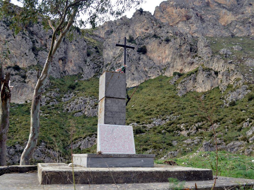 Memoria per L'ultimo difensore di Palermo (22 luglio 1943)