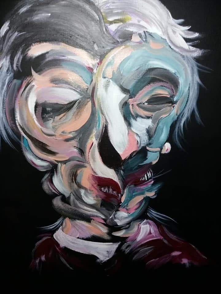 Memoria per La dama allo specchio: l'arte di esplicitare il dolore