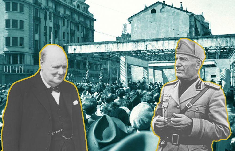 Memoria per E Churchill andò a piazzale Loreto...