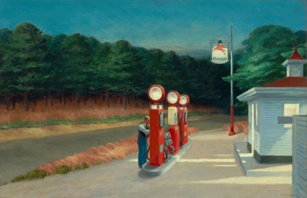 Memoria per Poesia e relax da una pompa di benzina...
