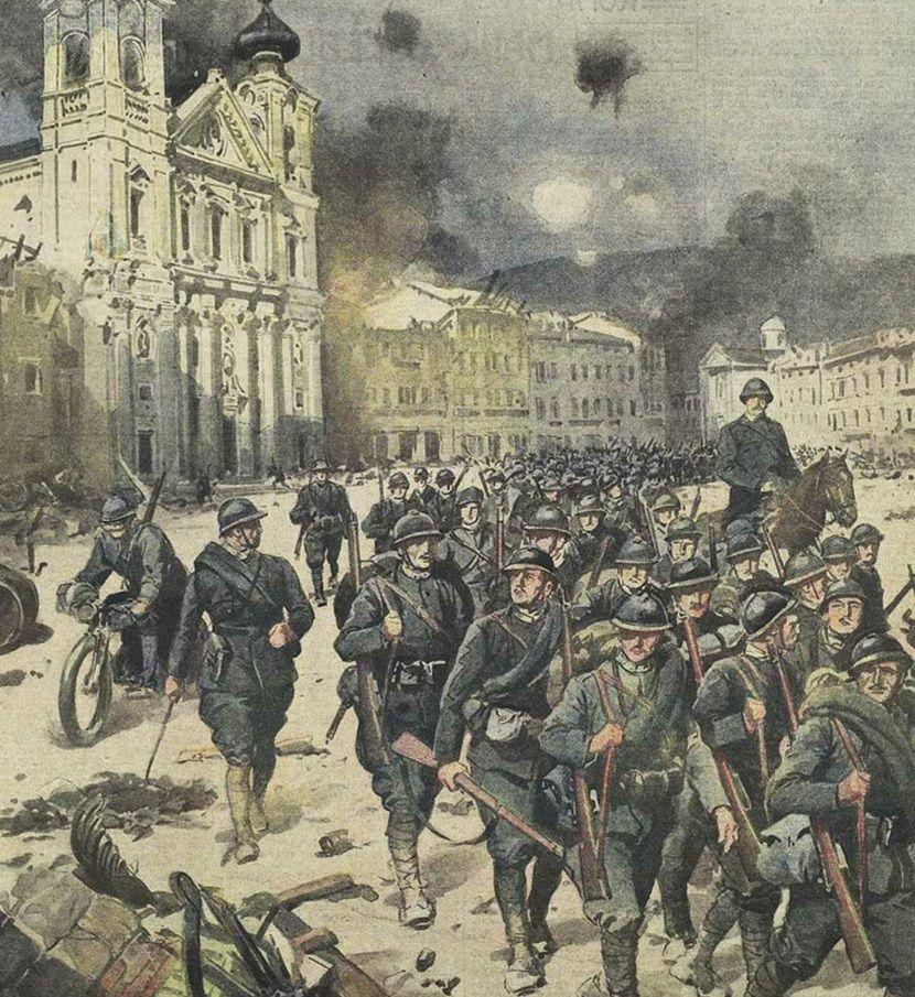 Memoria per Gorizia nella Grande Guerra (1915-16)
