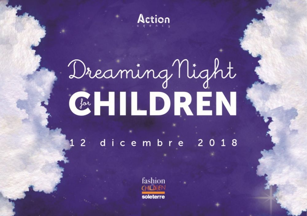 "SOLETERRE: al via da oggi l'asta dei sogni ""DREAMING NIGHT FOR CHILDREN""."